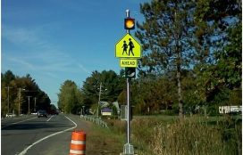 Harold R Clune - LED Beacon School Crossing Sign